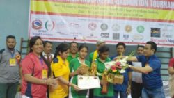 Winner of B.P. Koirala Indo-Nepal Badminton Tournament